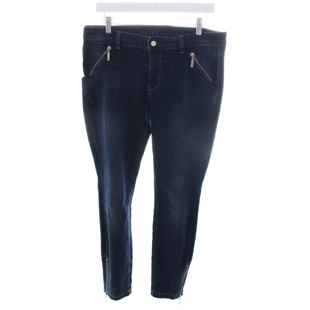 mac skinny jeans dream skinny zip authentic dark blue. Black Bedroom Furniture Sets. Home Design Ideas