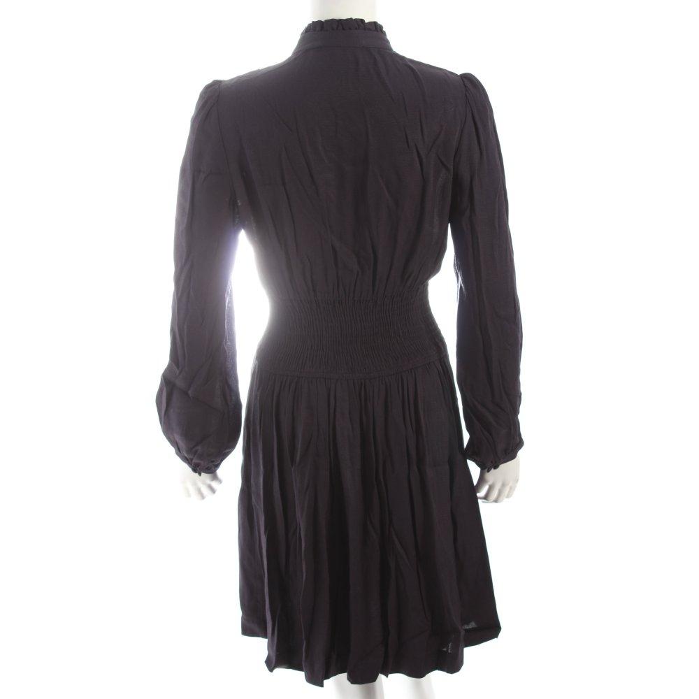 Maje blusenkleid dunkelblau klassischer stil damen gr de for Klassischer stil