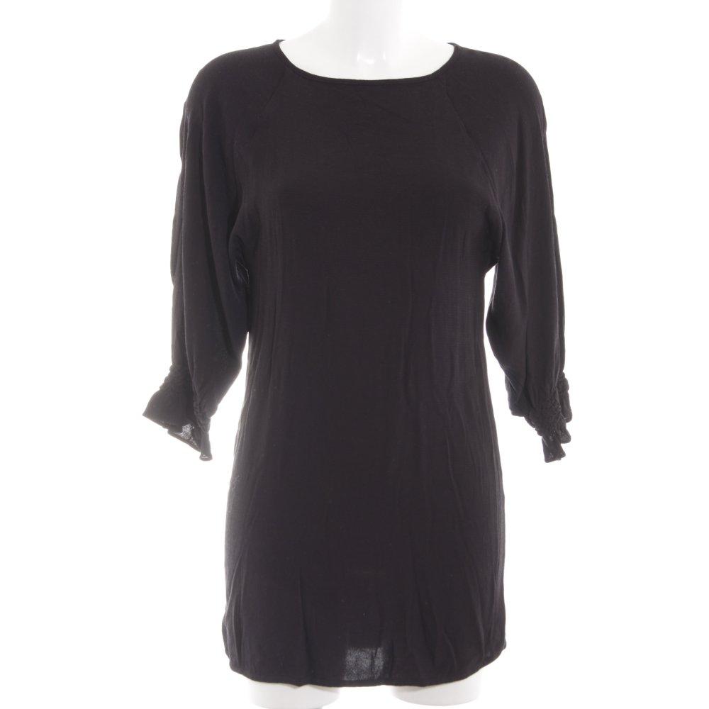 Détails sur MAJE Robe courte noir style d'affaires Dames T 40