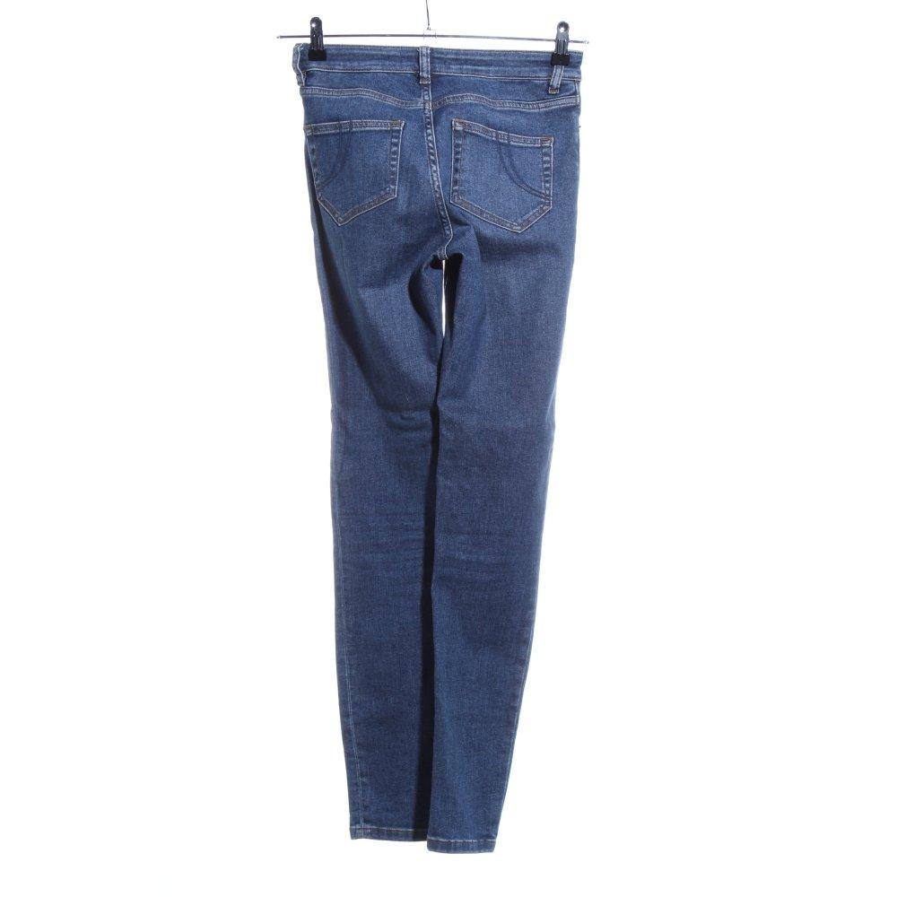 Détails sur MAJE Jeans skinny bleu style décontracté Dames T 38