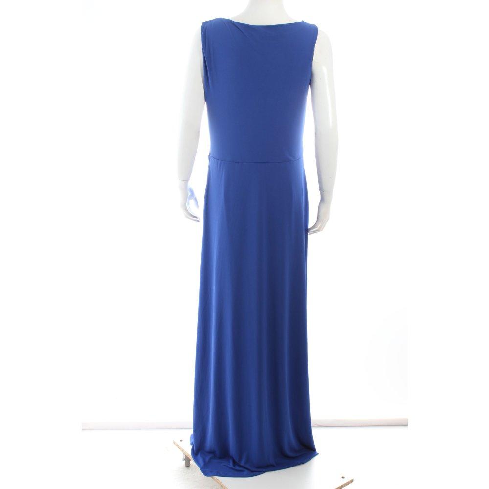 mango abendkleid blau schwarz eleganz look damen gr de 40. Black Bedroom Furniture Sets. Home Design Ideas
