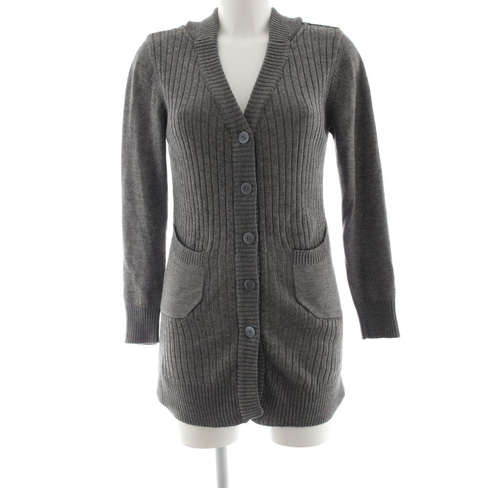 Détails sur MANGO CASUAL Manteau en laine gris clair style décontracté Dames T 38