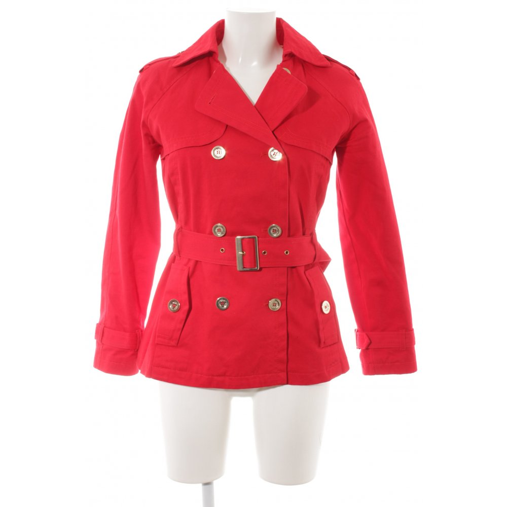 Casual It Trench Taglia Mango Stile Donna Rosso 38 WDIE29HY