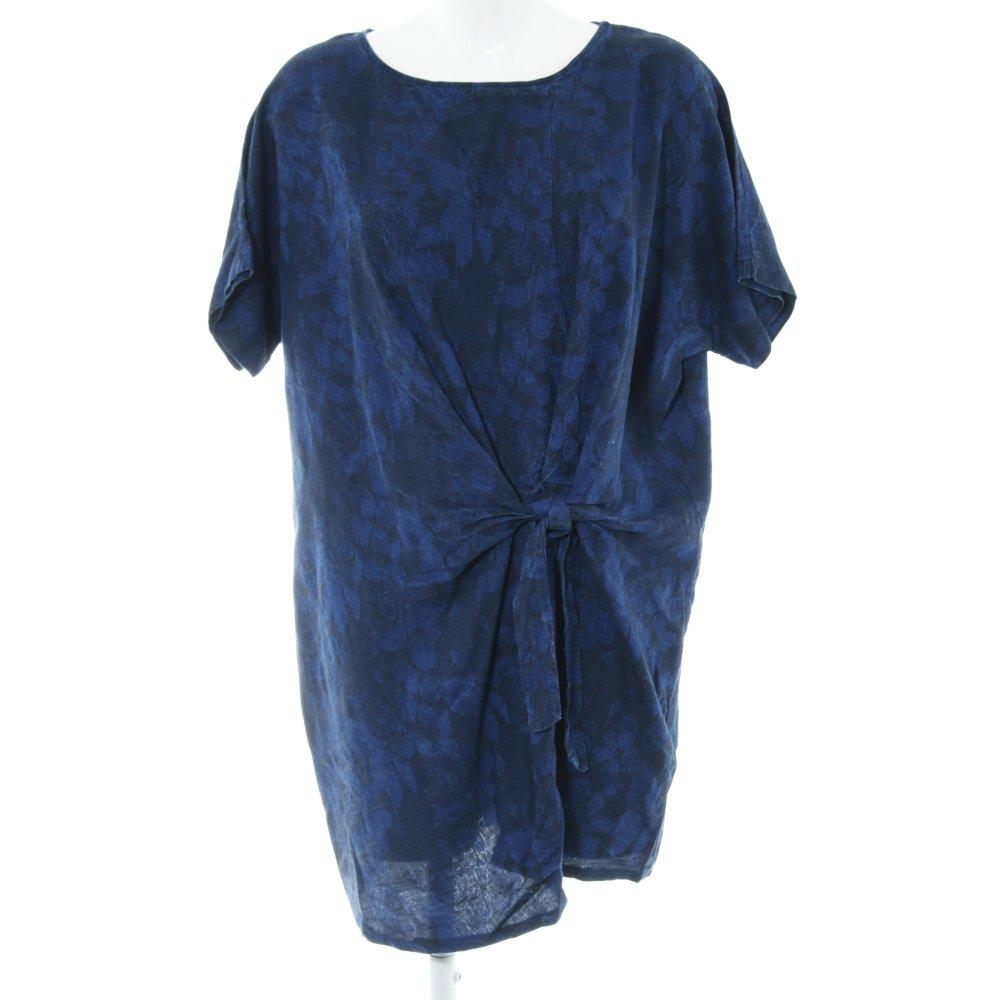Mango collection Robe courte bleu noir style décontracté
