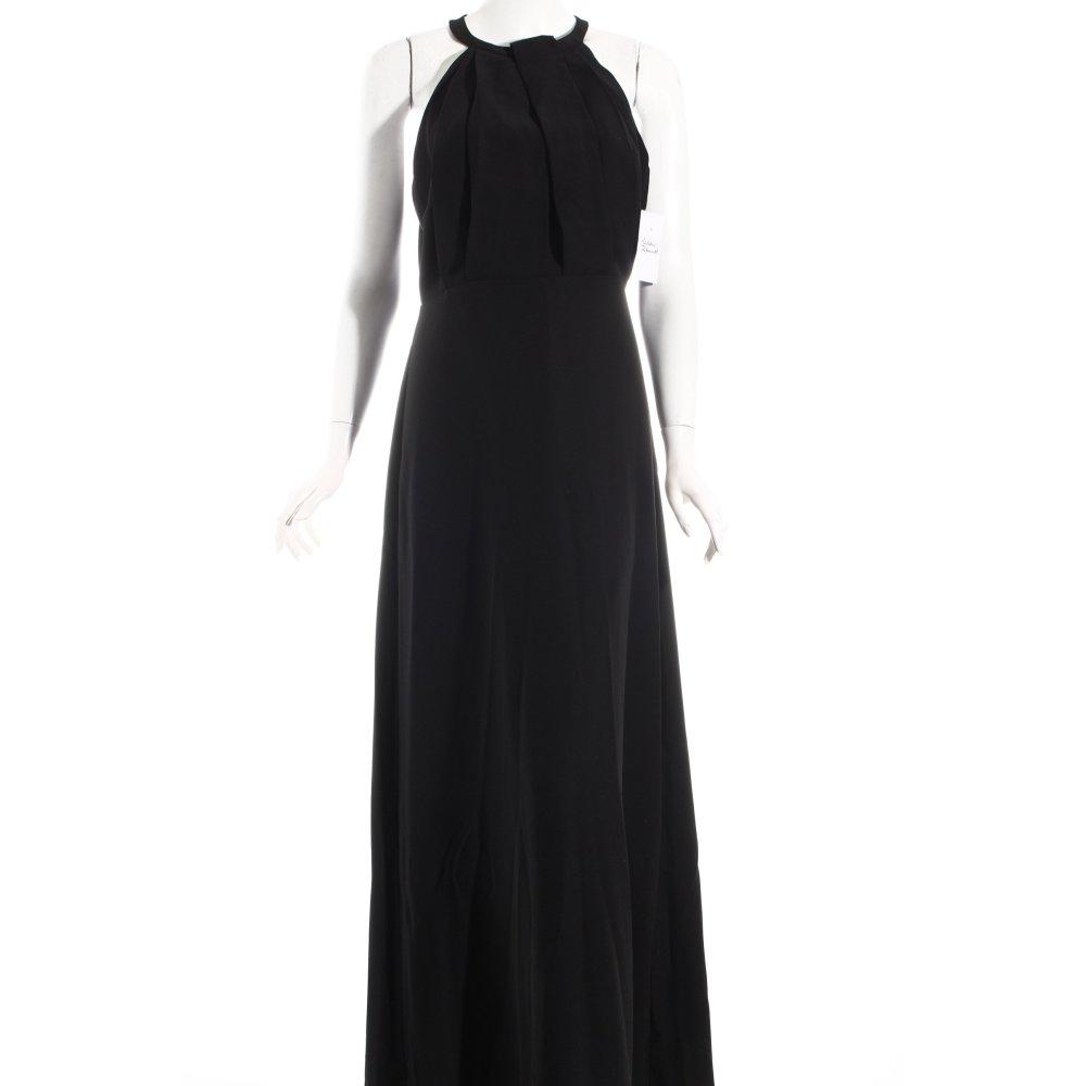 mango suit abendkleid schwarz elegant damen gr de 38. Black Bedroom Furniture Sets. Home Design Ideas