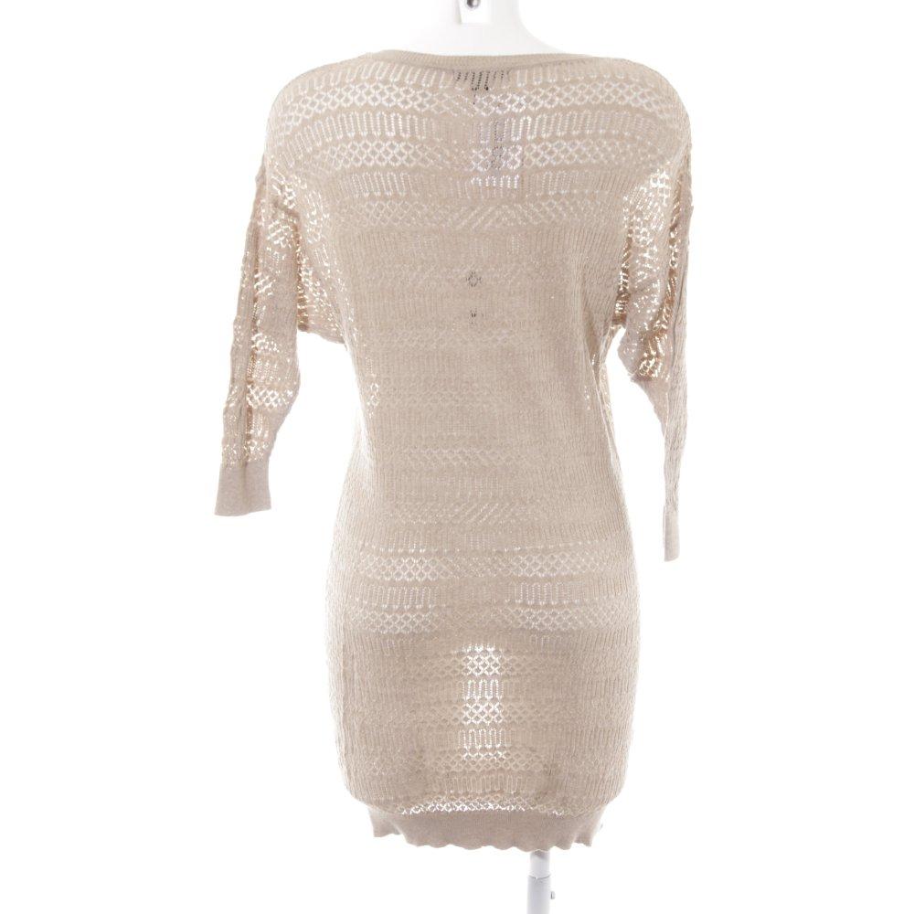 Detalles de Mango Suit vestido de punto beige casual Look señora talla de 36 vestido Dress ver título original