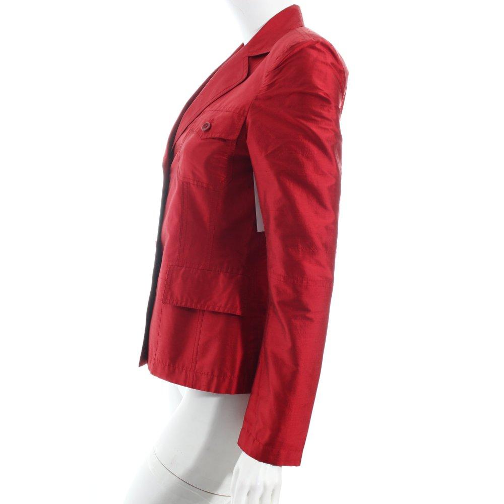 marc aurel blazer rot elegant damen gr de 34 seide ebay. Black Bedroom Furniture Sets. Home Design Ideas