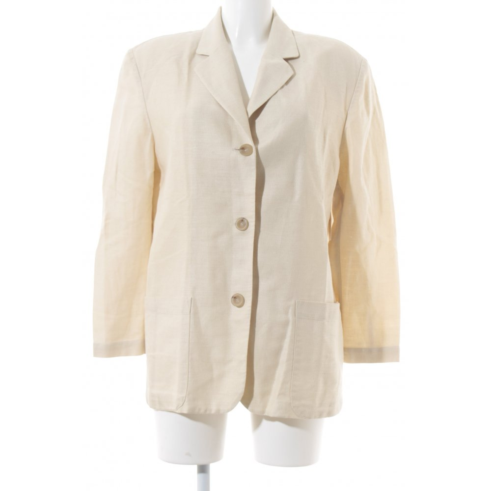 marc aurel long blazer beige boyfriend look damen gr de 34 long blazer ebay. Black Bedroom Furniture Sets. Home Design Ideas