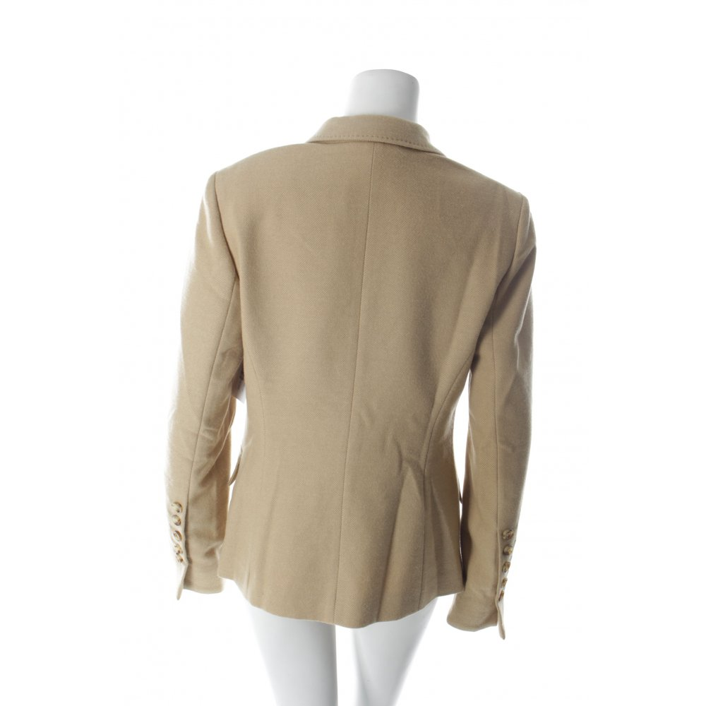 marc aurel woll blazer beige nude look damen gr de 38 wool blazer ebay. Black Bedroom Furniture Sets. Home Design Ideas