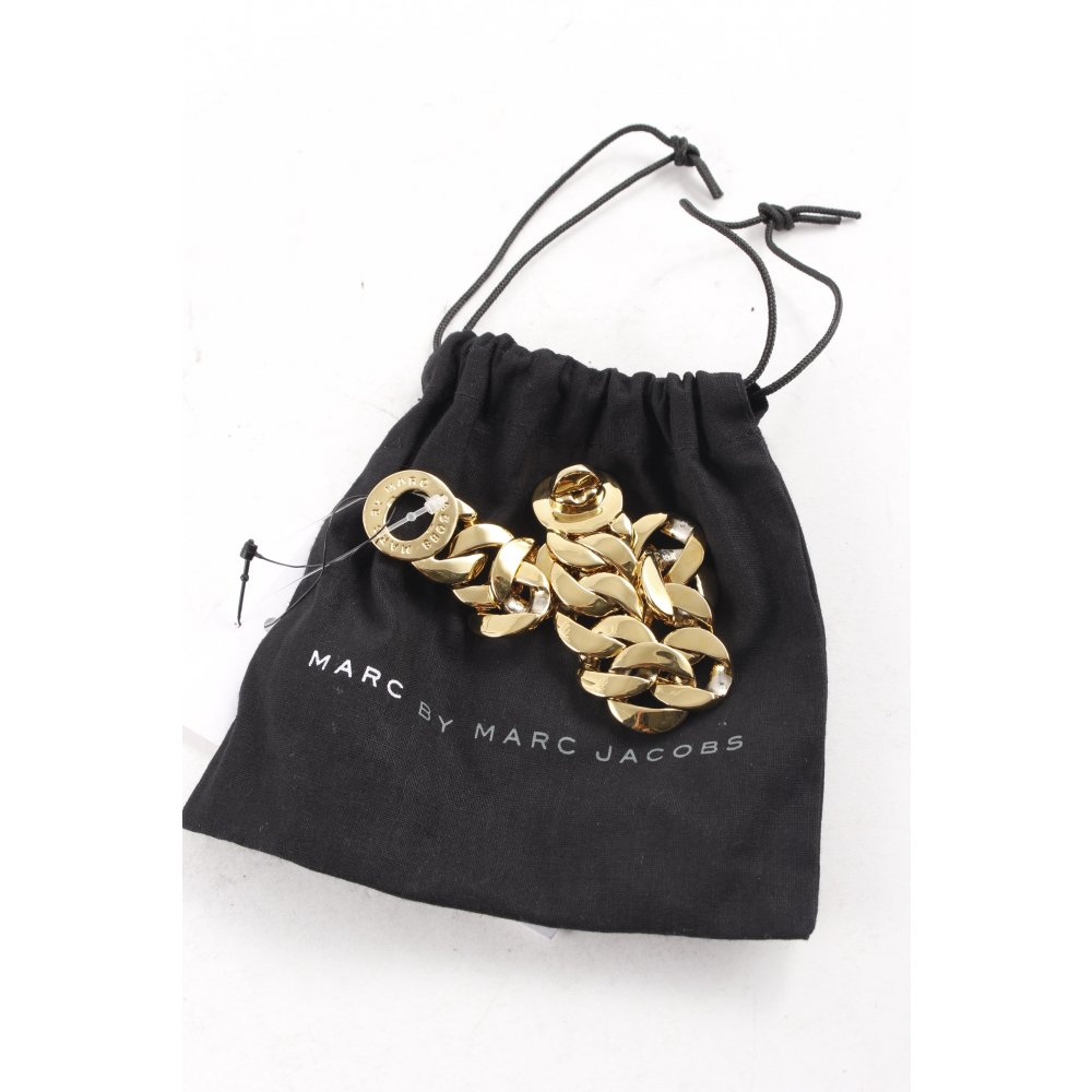marc by marc jacobs bracelet gold colored extravagant style women s ebay. Black Bedroom Furniture Sets. Home Design Ideas