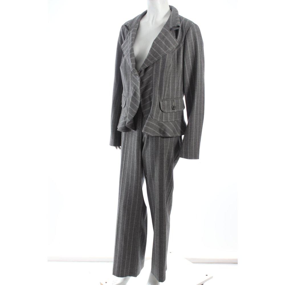 Marc cain hosenanzug grau hellgrau klassischer stil damen for Klassischer stil