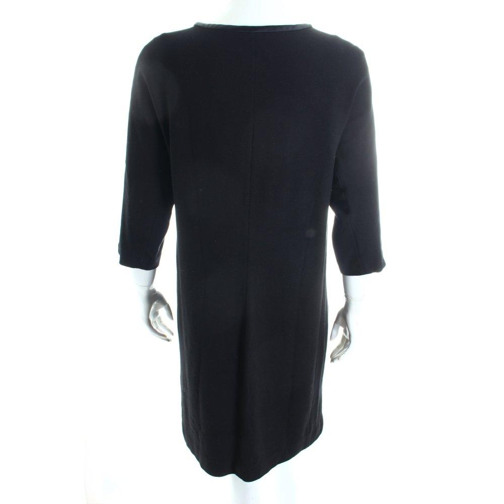 marc cain dress black minimalist style women s size uk 12. Black Bedroom Furniture Sets. Home Design Ideas
