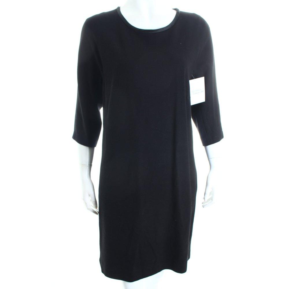marc cain dress black minimalist style women s size uk 12 ebay. Black Bedroom Furniture Sets. Home Design Ideas