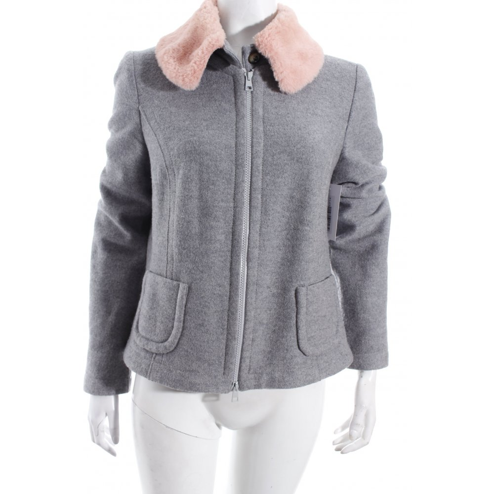 marc cain wolljacke grau ros street fashion look damen gr de 38 jacke jacket ebay. Black Bedroom Furniture Sets. Home Design Ideas
