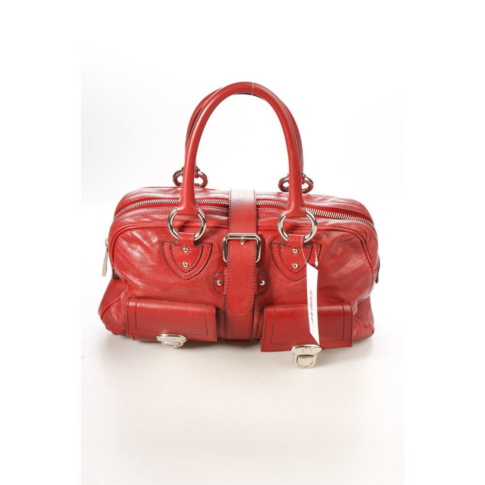 marc jacobs handtasche dunkelrot casual look damen tasche bag handbag ebay. Black Bedroom Furniture Sets. Home Design Ideas