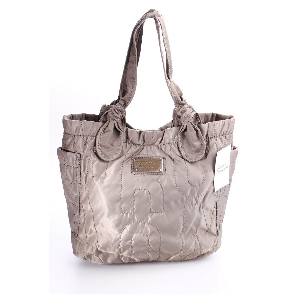 marc jacobs handtasche graubraun klassischer stil damen tasche bag handbag ebay. Black Bedroom Furniture Sets. Home Design Ideas