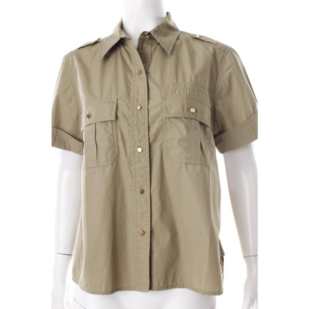 marc jacobs hemd bluse khaki military look damen gr de 36 blouse baumwolle ebay. Black Bedroom Furniture Sets. Home Design Ideas