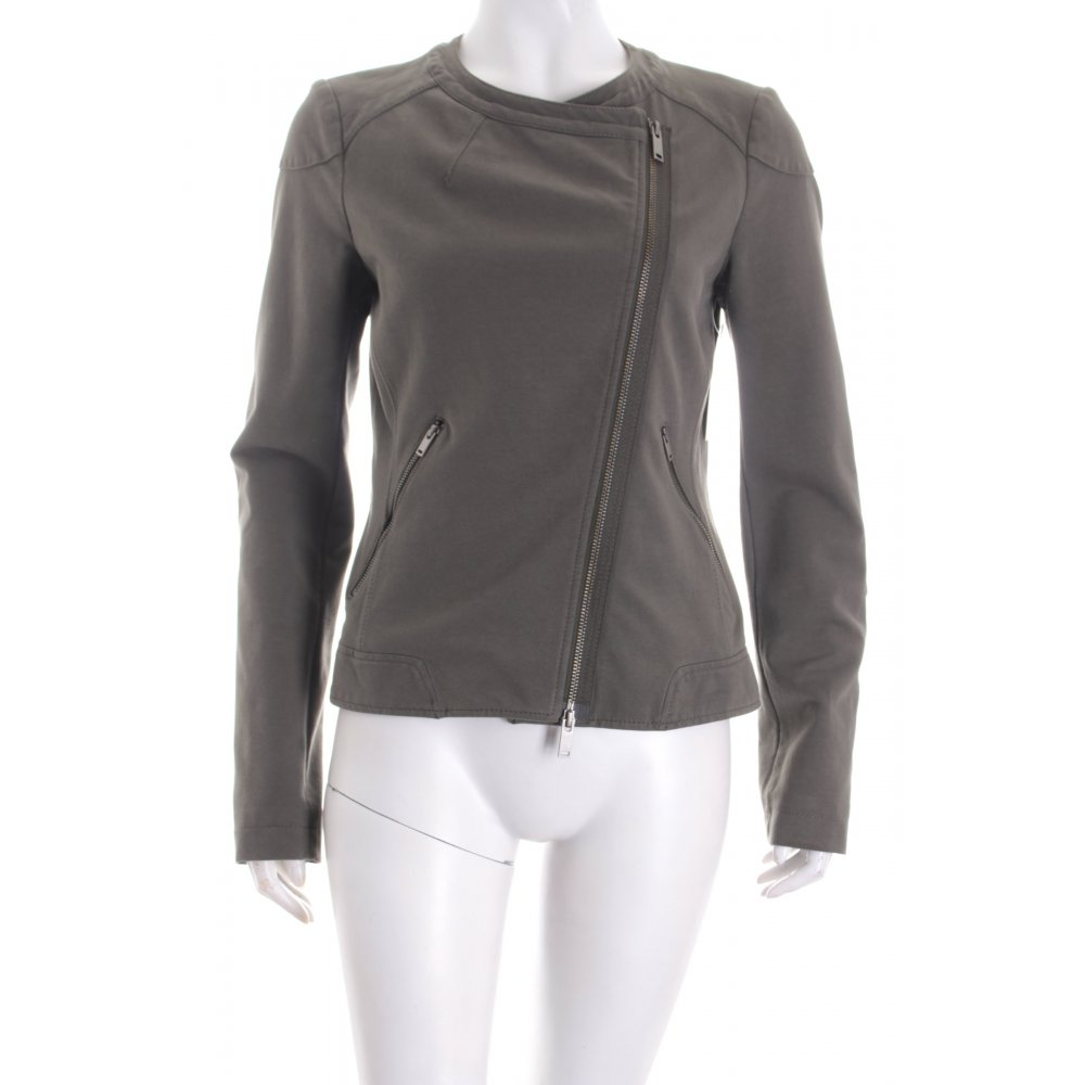 marc o polo bikerjacke khaki biker look damen gr de 36 jacke jacket. Black Bedroom Furniture Sets. Home Design Ideas