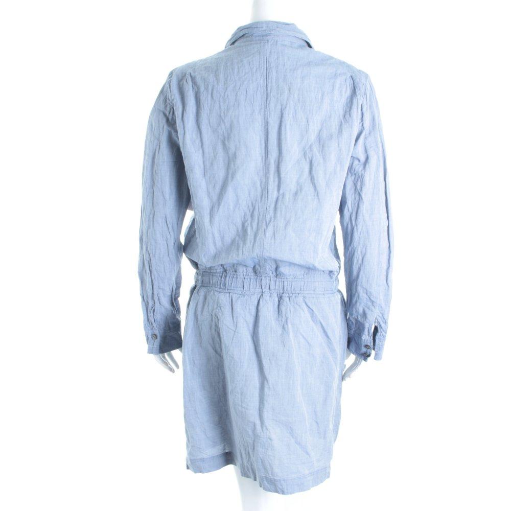 marc o polo blusenkleid himmelblau casual look damen gr. Black Bedroom Furniture Sets. Home Design Ideas