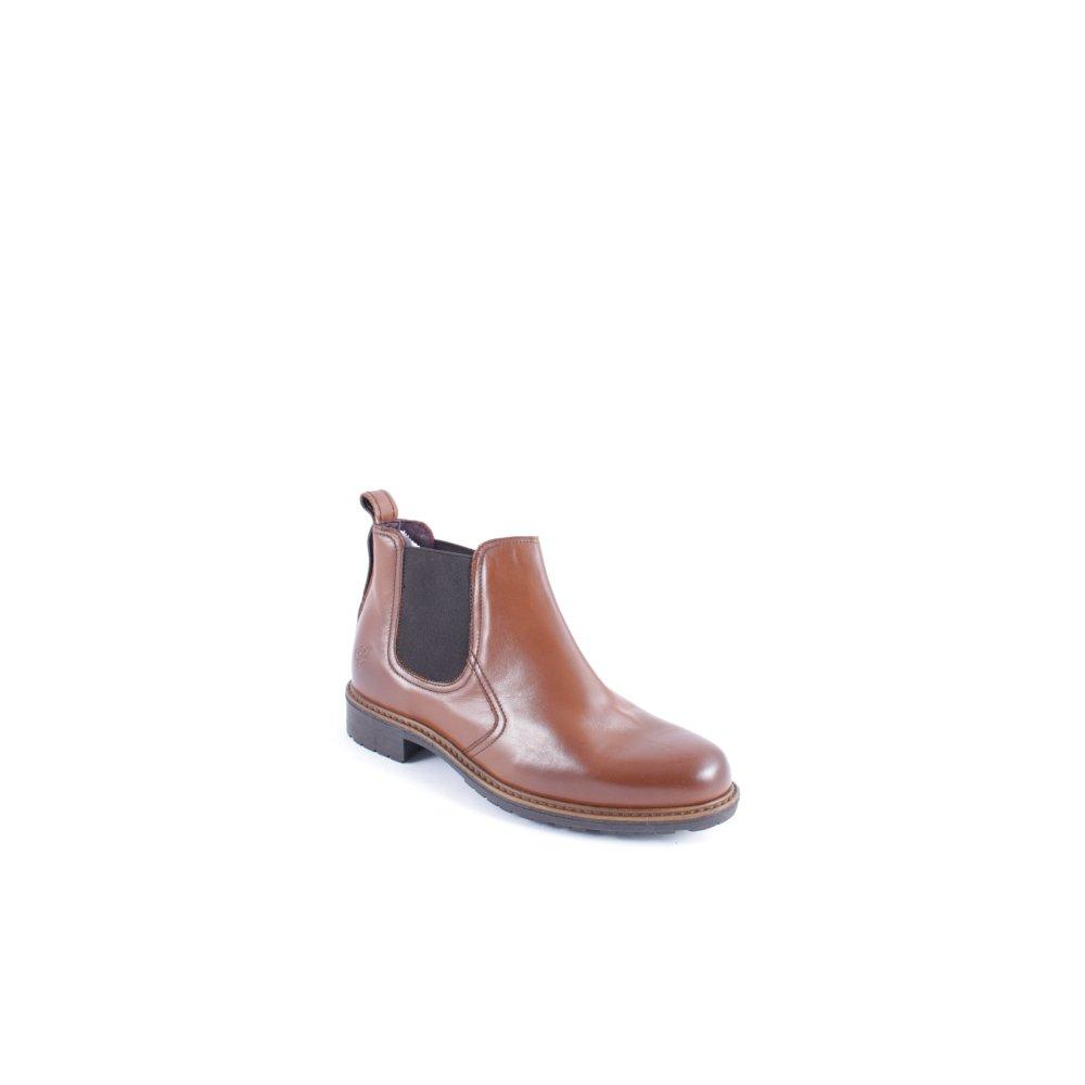 marc o polo chelsea boots cognac coloured brit look women. Black Bedroom Furniture Sets. Home Design Ideas