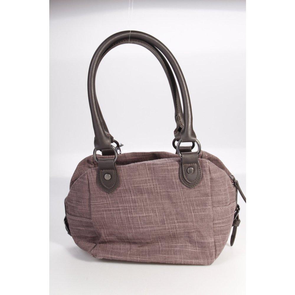 marc o polo marc o 39 polo handtasche graulila damen tasche bag handbag ebay. Black Bedroom Furniture Sets. Home Design Ideas