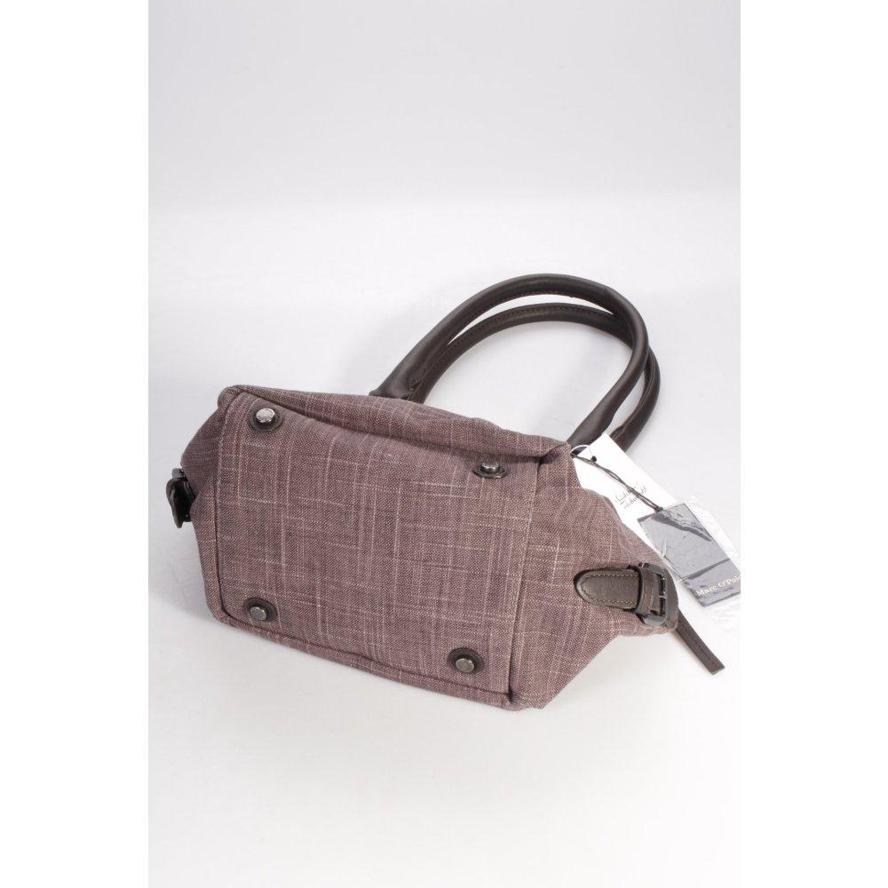 marc o polo marc o 39 polo handtasche graulila damen tasche bag handbag. Black Bedroom Furniture Sets. Home Design Ideas