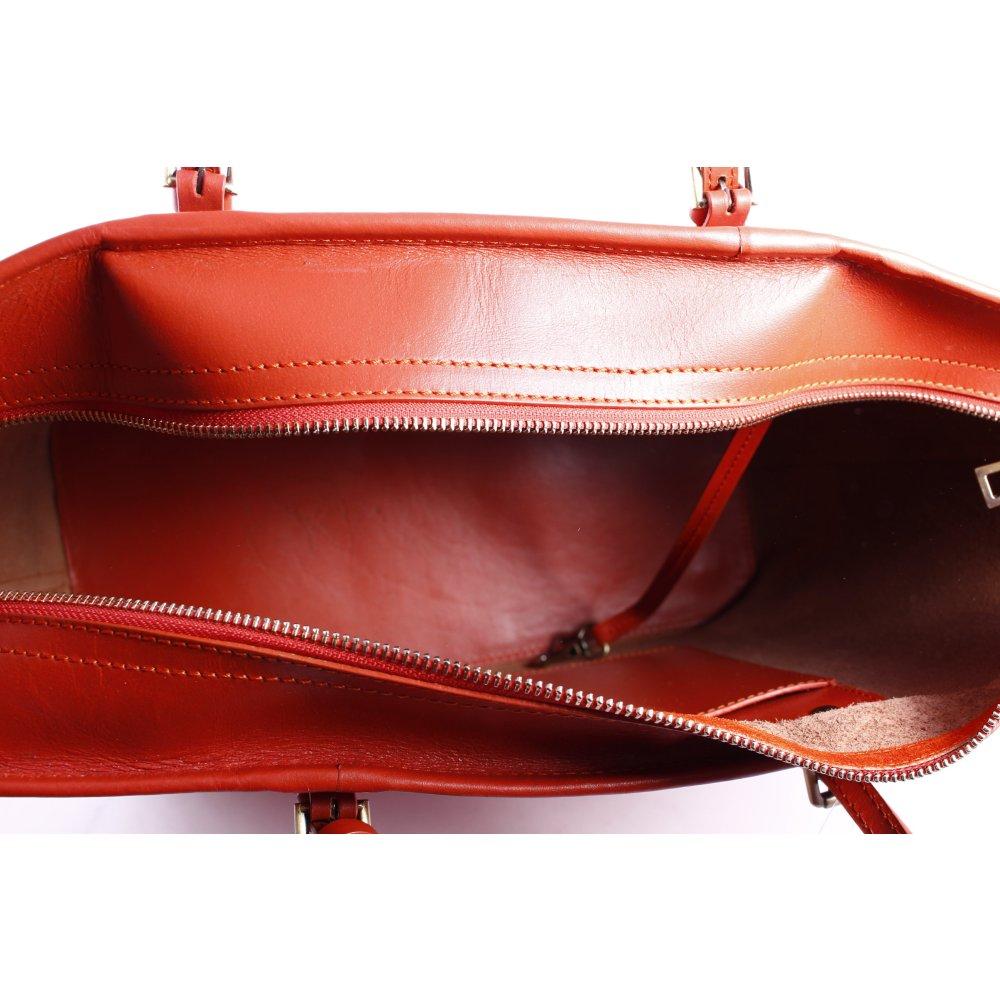 marc o polo handtasche neonorange casual look damen tasche bag handbag ebay. Black Bedroom Furniture Sets. Home Design Ideas
