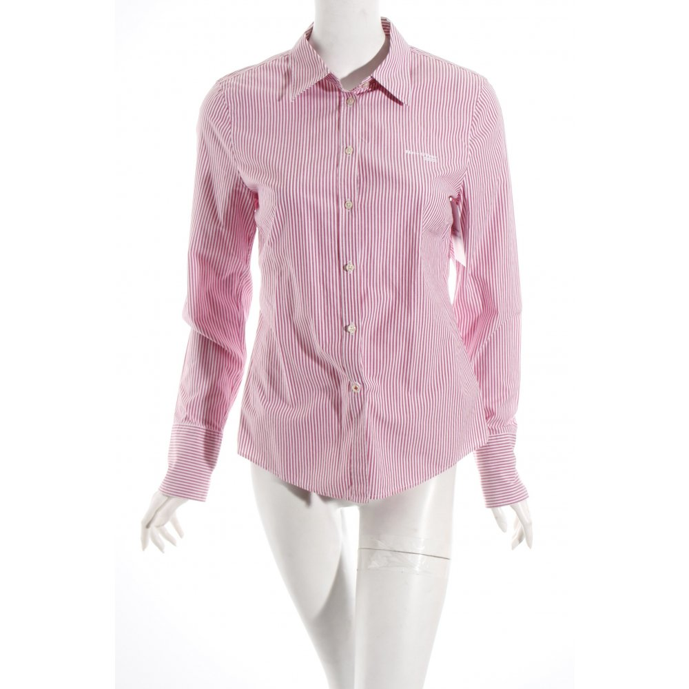 marc o polo shirt blouse magenta white striped pattern. Black Bedroom Furniture Sets. Home Design Ideas