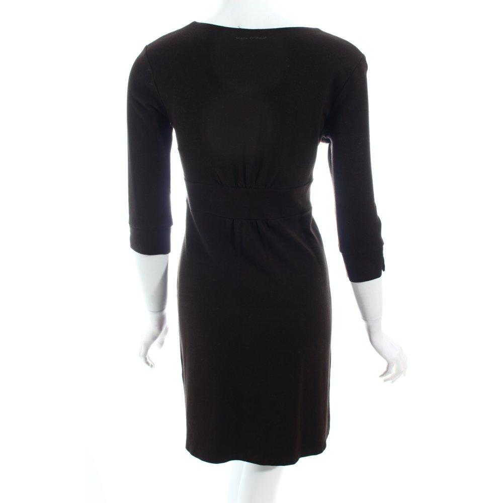 details zu marc o polo jerseykleid schwarz schlichter stil damen gr. Black Bedroom Furniture Sets. Home Design Ideas
