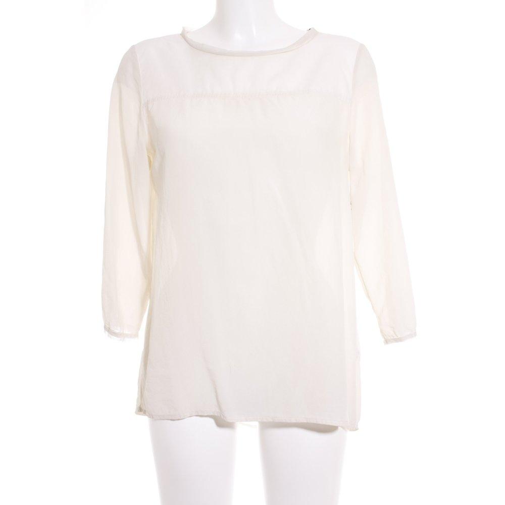 marc o polo langarm bluse creme casual look damen gr de. Black Bedroom Furniture Sets. Home Design Ideas