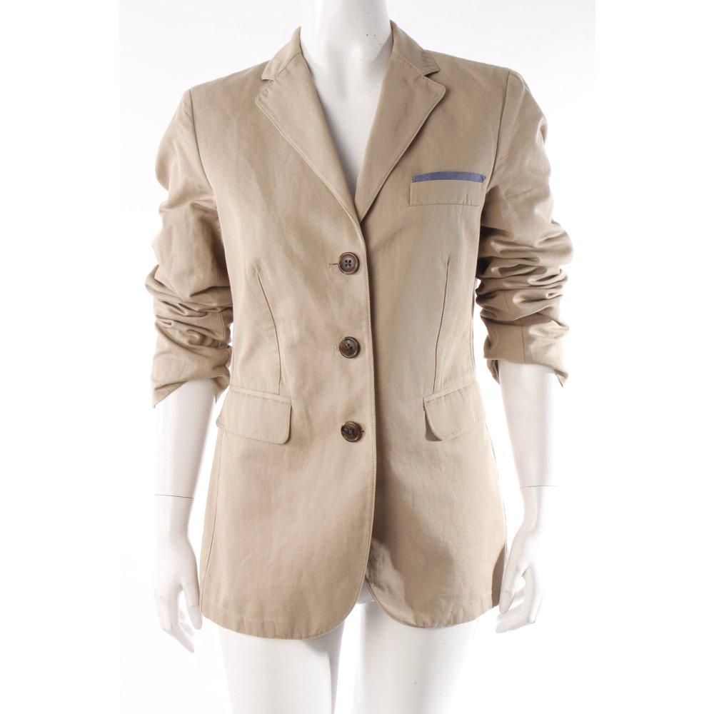 marc o polo marc o 39 polo long blazer beige damen gr de 38. Black Bedroom Furniture Sets. Home Design Ideas