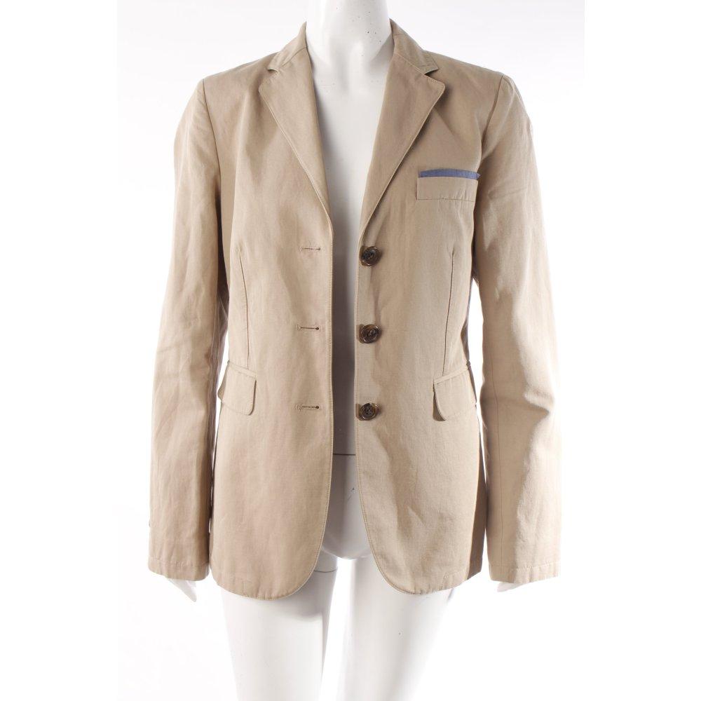 details zu marc o polo marc o 39 polo long blazer beige damen gr de 38. Black Bedroom Furniture Sets. Home Design Ideas