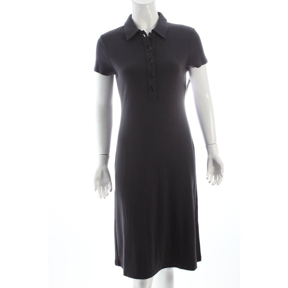 marc o polo polokleid anthrazit damen gr de 38 kleid dress polo. Black Bedroom Furniture Sets. Home Design Ideas