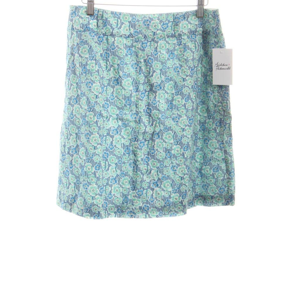 marc o polo rock blumenmuster beach look damen gr de 38 wei baumwolle skirt. Black Bedroom Furniture Sets. Home Design Ideas