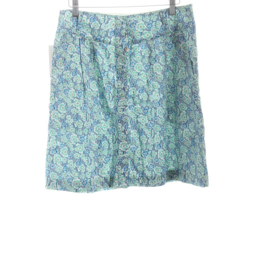 marc o polo rock blumenmuster beach look damen gr de 38 wei baumwolle skirt ebay. Black Bedroom Furniture Sets. Home Design Ideas