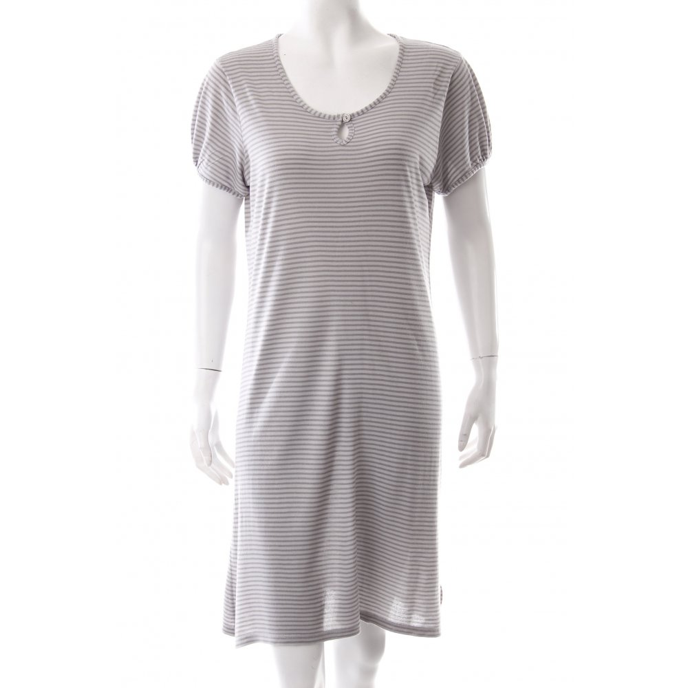 marc o polo shirt dress grey anthracite horizontal stripes women s. Black Bedroom Furniture Sets. Home Design Ideas