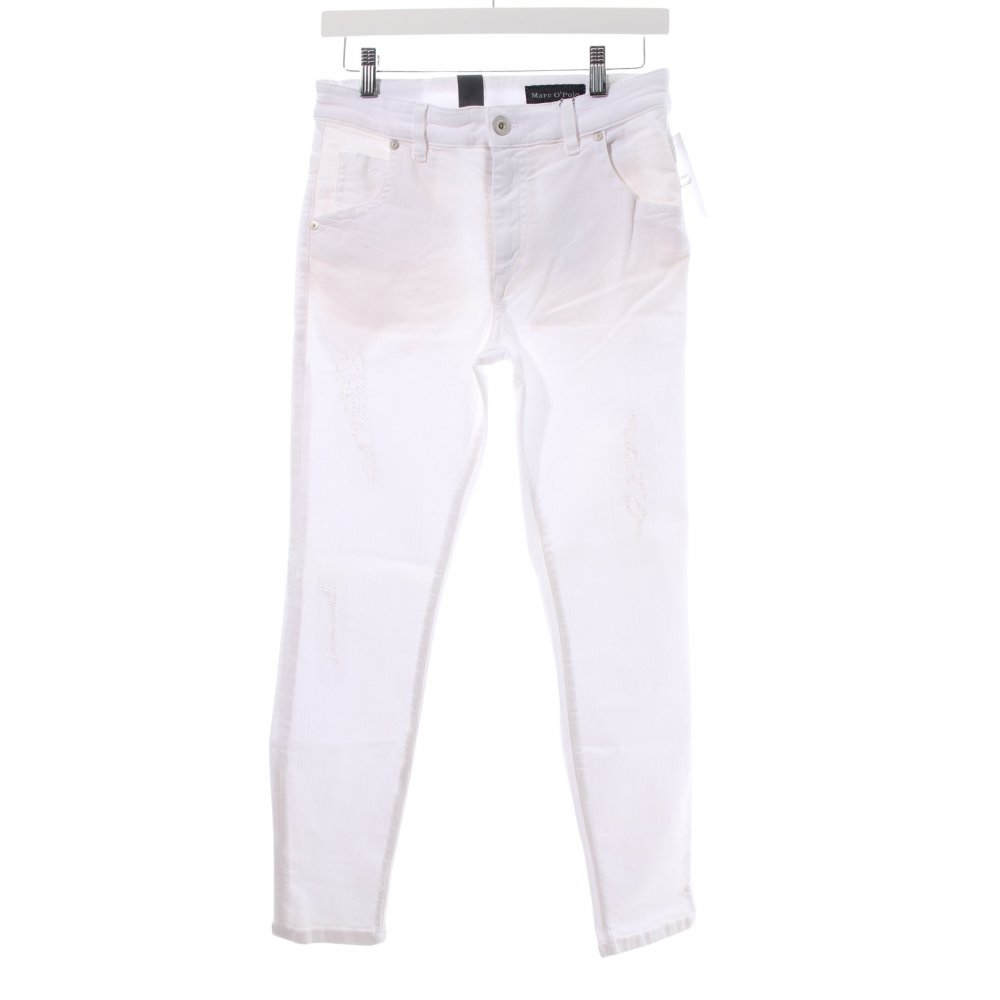 details zu marc o polo skinny jeans skive wei damen gr de. Black Bedroom Furniture Sets. Home Design Ideas