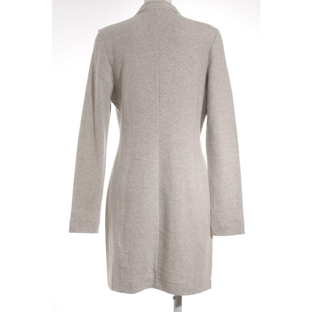 marc o polo wollmantel hellgrau street fashion look damen gr de 40 mantel coat ebay. Black Bedroom Furniture Sets. Home Design Ideas