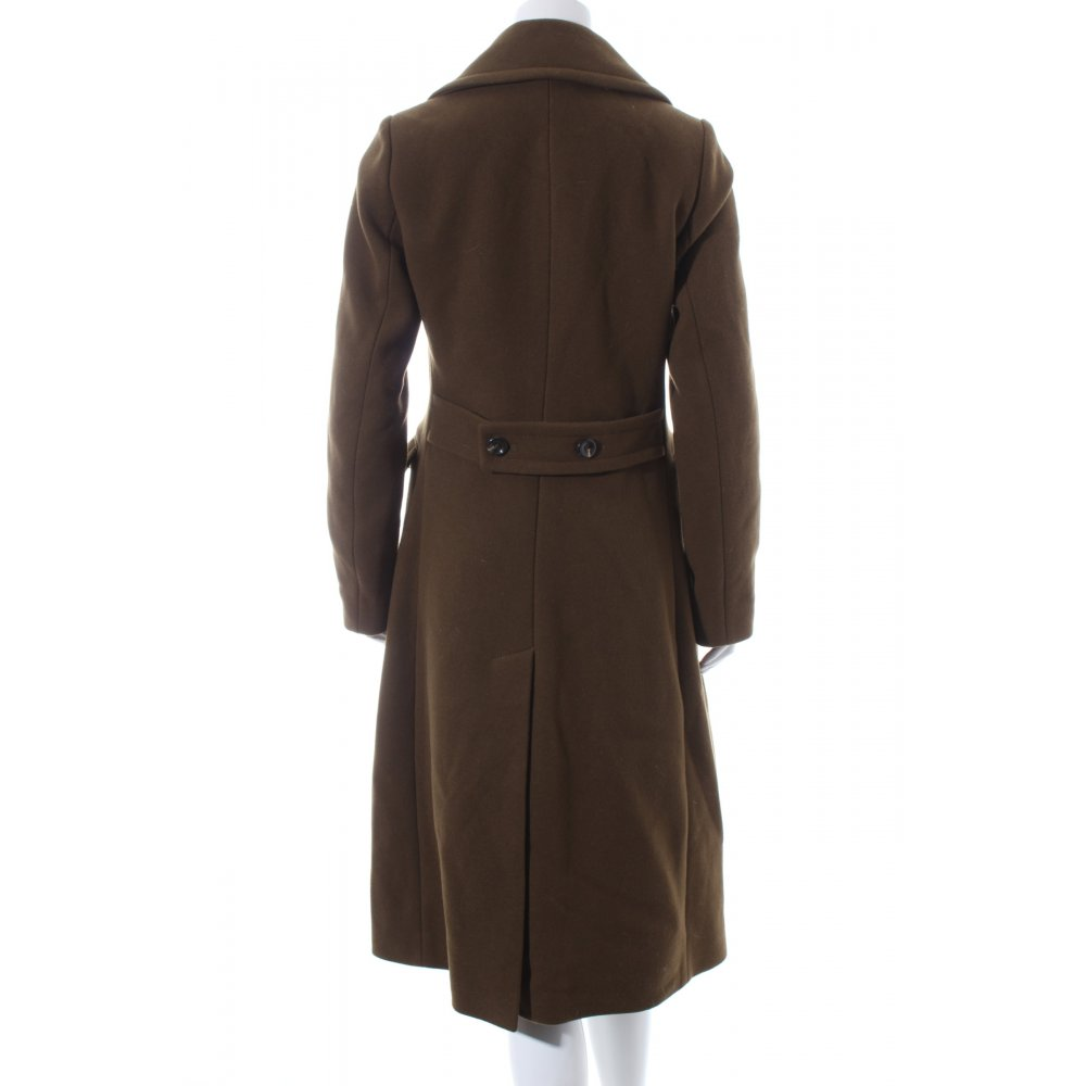 marc o polo wollmantel khaki military look damen gr de 36 mantel coat ebay. Black Bedroom Furniture Sets. Home Design Ideas