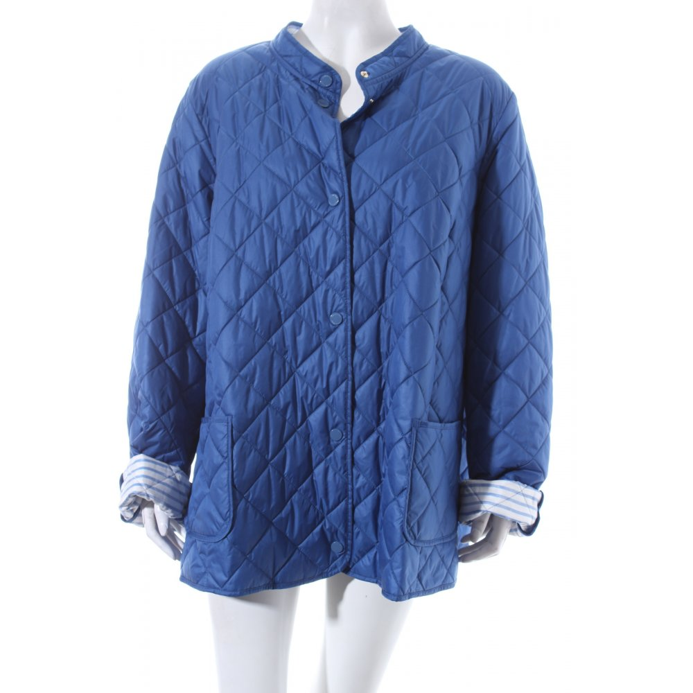 marina rinaldi steppjacke palpito blau damen gr de 52 jacke jacket ebay. Black Bedroom Furniture Sets. Home Design Ideas