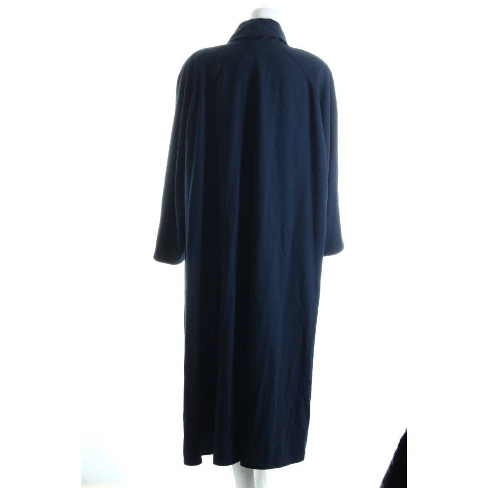 max mara wool coat dark blue street fashion look women s size uk 10 ebay. Black Bedroom Furniture Sets. Home Design Ideas