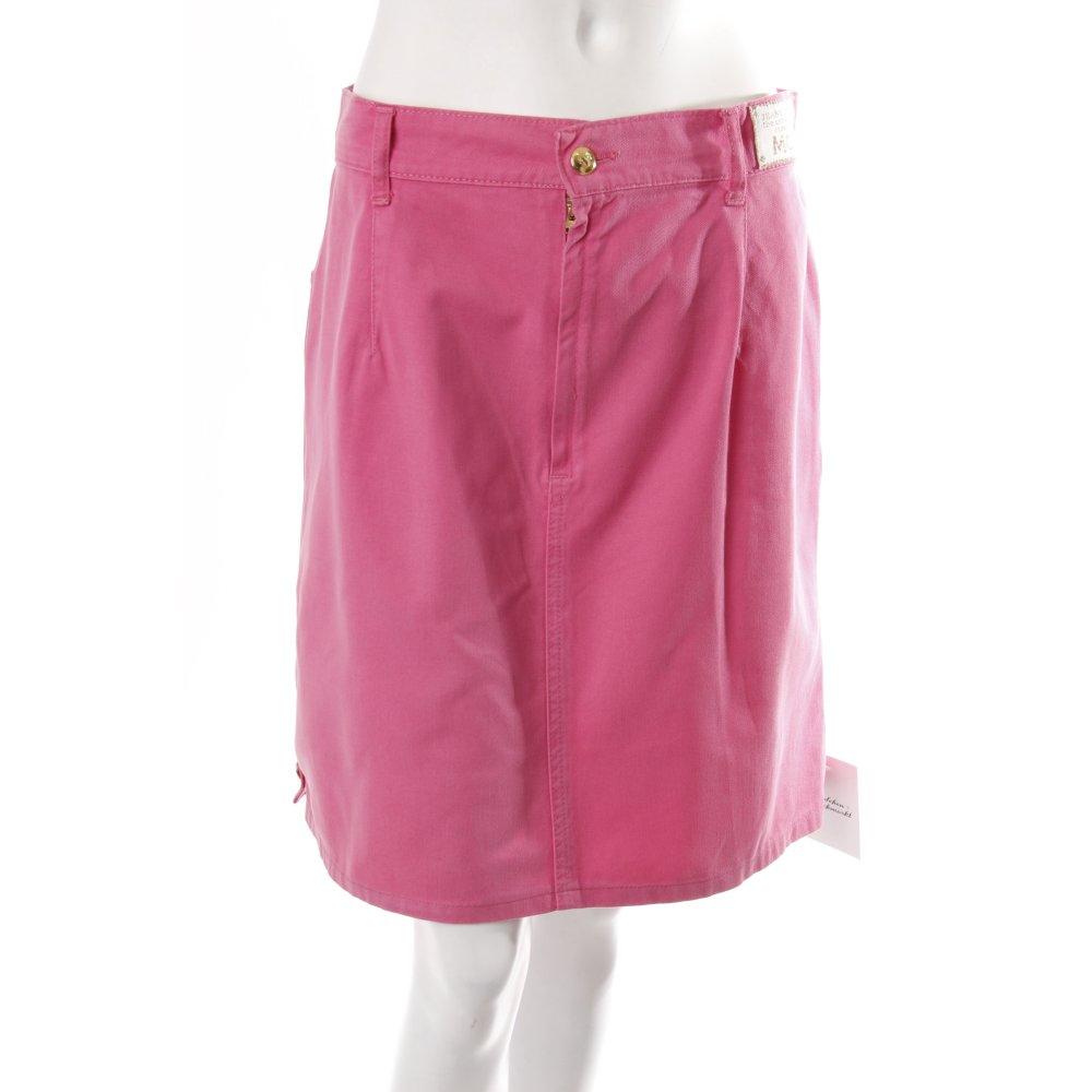 new products a0a9f 64e0c MCM Jeansrock Rosa Gold Damen Gr. DE 38 pink Rock Skirt ...