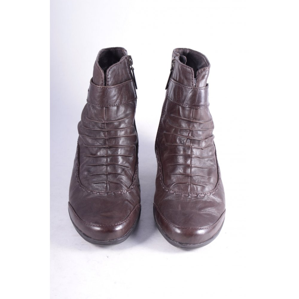 medicus stiefeletten dunkelbraun klassischer stil damen gr de 38 schuhe shoes ebay. Black Bedroom Furniture Sets. Home Design Ideas