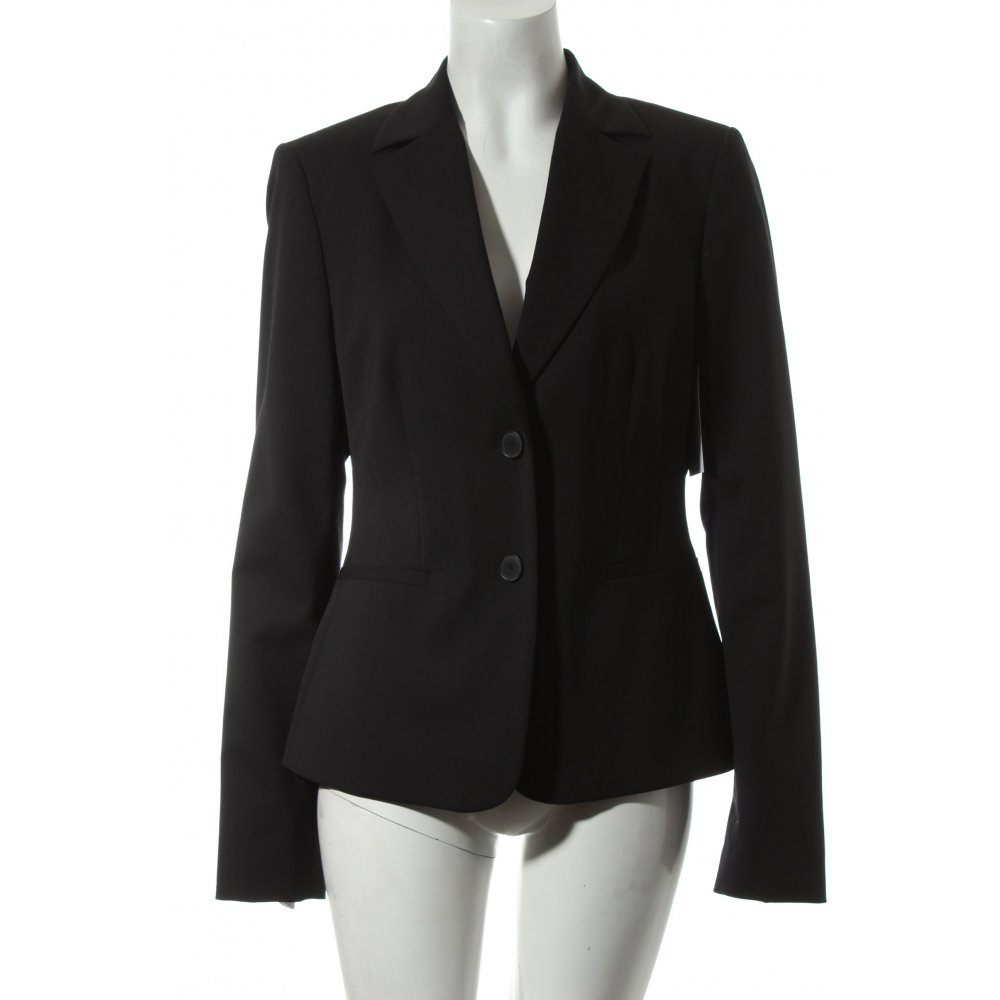 mexx blazer schwarz business look damen gr de 40. Black Bedroom Furniture Sets. Home Design Ideas