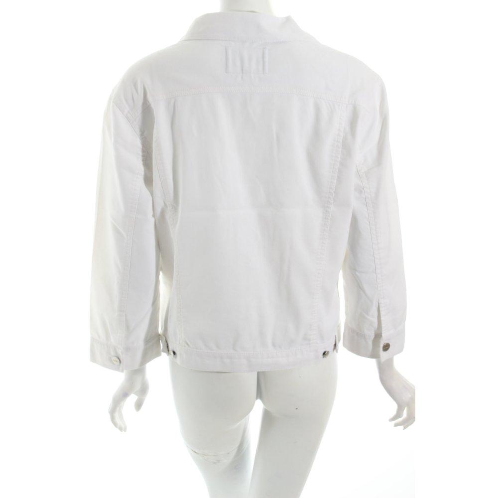 mexx jeansjacke wei casual look damen gr de 42 wei. Black Bedroom Furniture Sets. Home Design Ideas