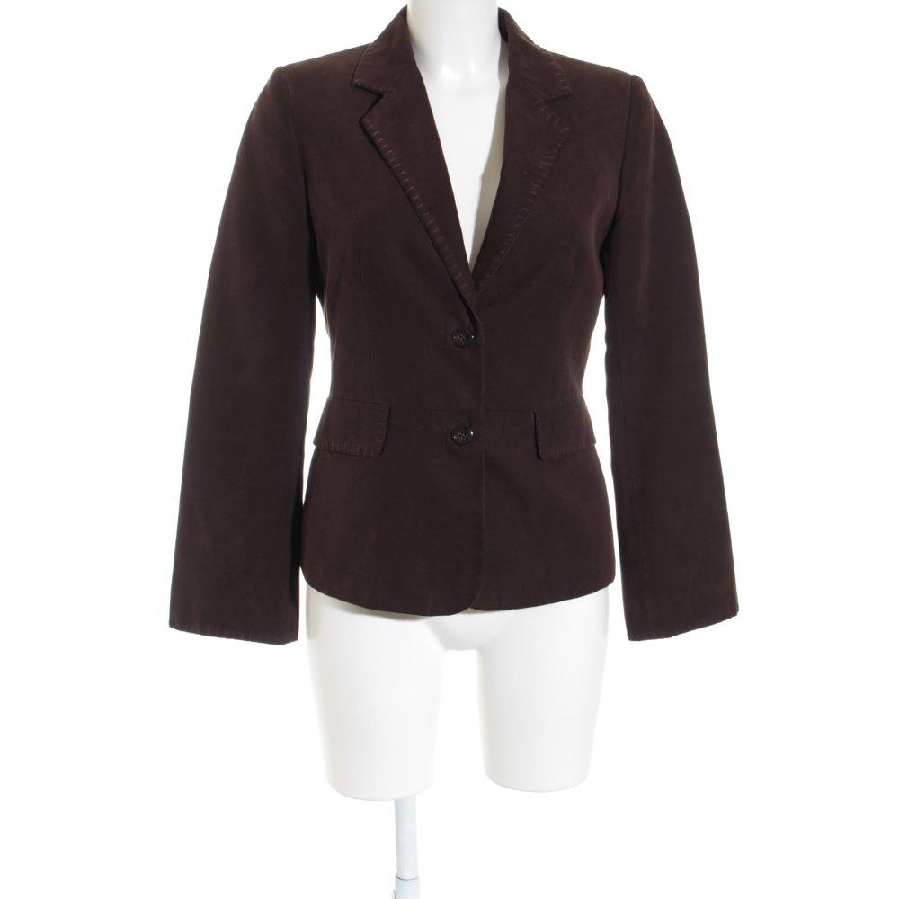 mexx kurz blazer braun elegant damen gr de 36 short. Black Bedroom Furniture Sets. Home Design Ideas