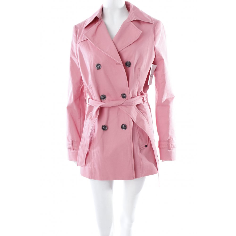 mexx trenchcoat rosa damen gr de 38 mantel coat stuttgart. Black Bedroom Furniture Sets. Home Design Ideas