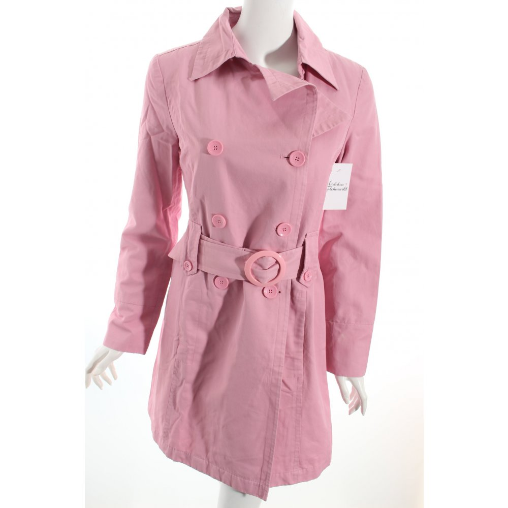 mexx trenchcoat rosa casual look damen gr de 36 mantel. Black Bedroom Furniture Sets. Home Design Ideas