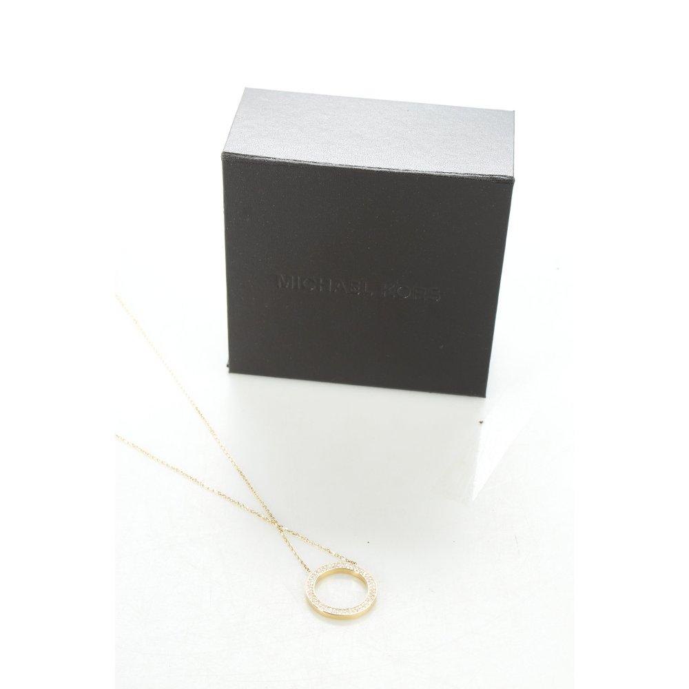 michael kors halskette goldfarben eleganz look damen kette chain necklace ebay. Black Bedroom Furniture Sets. Home Design Ideas