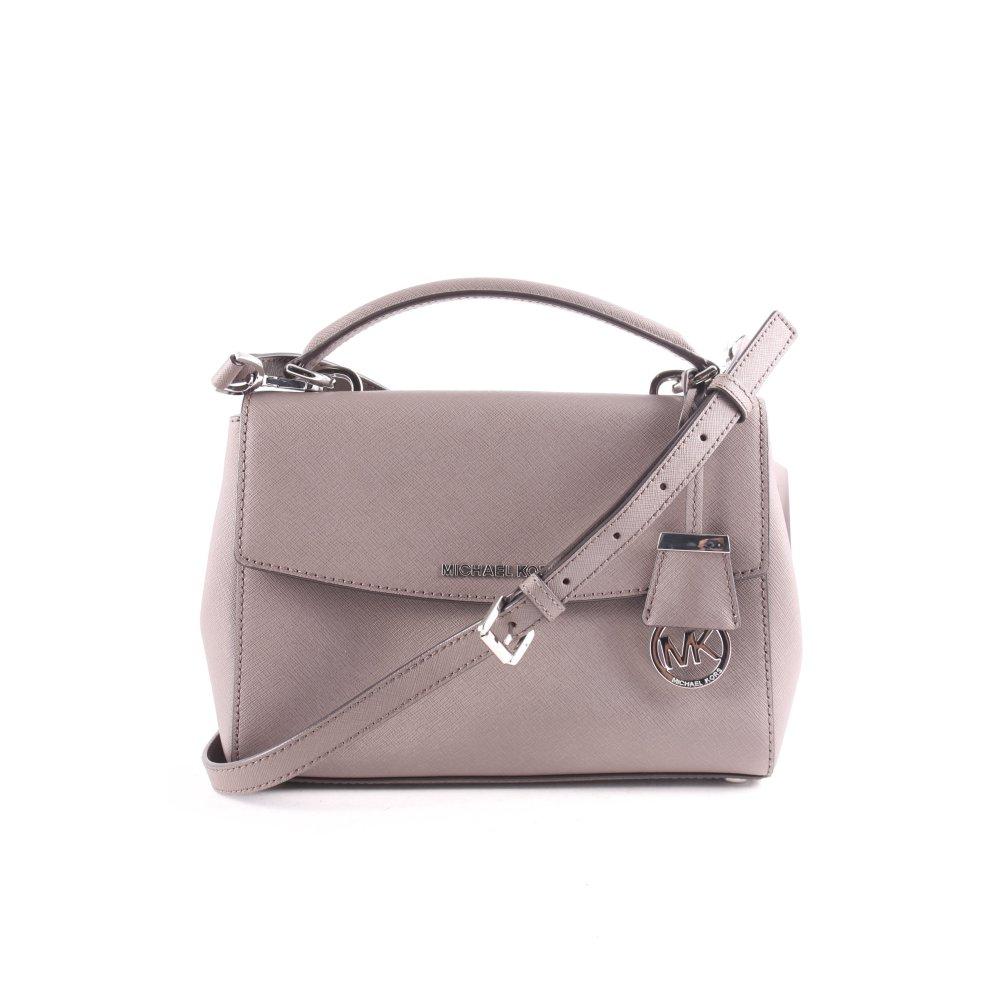 michael kors handtasche ava sm th satchel leather cinder. Black Bedroom Furniture Sets. Home Design Ideas